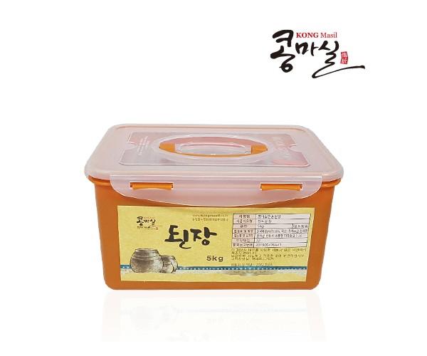 안동생명콩100% 콩마실 전통된장 5kg(황토누름독)